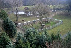 Der Wildpark aus der Vogelperspektive. Foto: Verein der Freunde und Förderer des Wildparks Leipzig e.V.