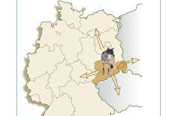 Managementplan für den Wolf in Sachsen. Cover: Freistatt Sachsen