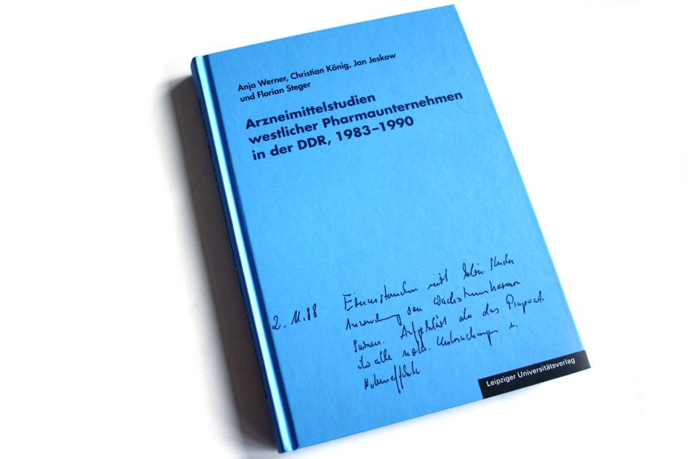 Arzneimittelstudien westlicher Pharmaunternehmen in der DDR, 1983 - 1990. Foto: Ralf Julke