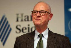 Bernhard Moltmann, Gastforscher beim Leibnitz-Institut Hessische Stiftung Friedens- und Konfliktforschung. Foto: HSS