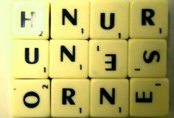 Nur ein paar ungeordnete Buchstaben. Foto: Ralf Julke