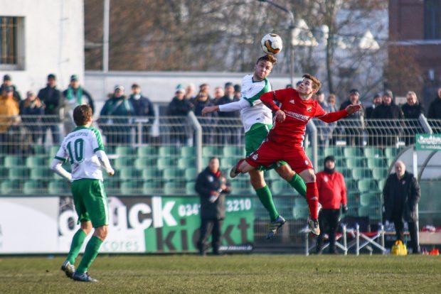 Hart umkämpfte Partie endet unentschieden. Foto: BSG Chemie Leipzig / Christian Donner