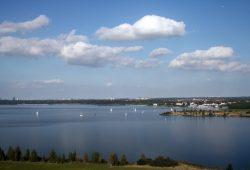 Cospudener See – Der Sperrbezirk wird verlängert. Foto: Ralf Julke