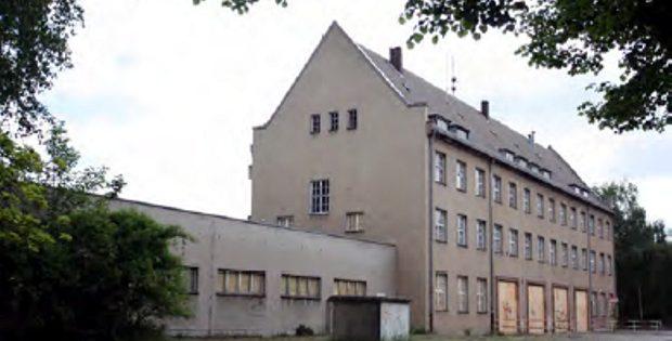 Die alte Feuerwache im Leipziger Osten. Noch steht sie leer und verlassen. Foto: IG Ostwache