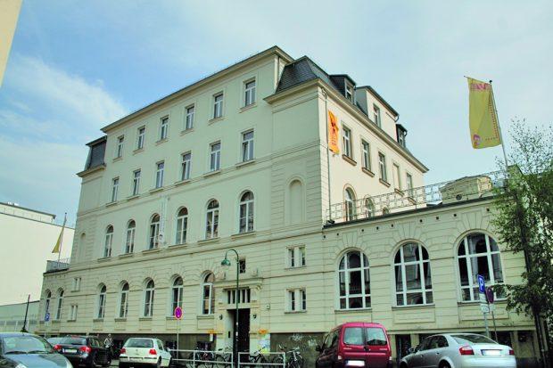 "Soziokulturelles Zentrum ""Die VILLA"", ua. Sitz von ""Kulturleben Leipzig"". Foto: L-IZ.de"