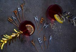 Cranberry-Zitronen-Spritz. Foto: Maike Klose