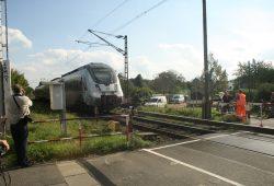 Übergang am Equipagenweg im Jahr 2014. Foto: Ralf Julke