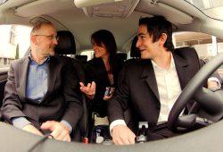 Fahrgemeinschaft im Auto. Foto: Flinc