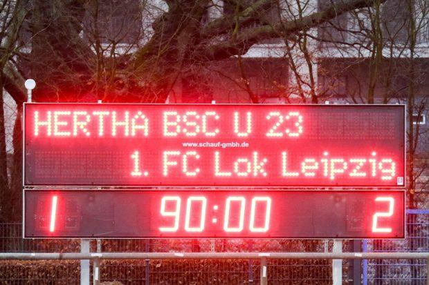 Auswärtssieg für den 1. FC Lok in Berlin. Foto: Bernd Scharfe