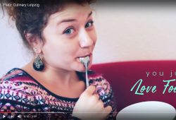Der drittplatzierte Clip: You just love food? Screenshot: L-IZ