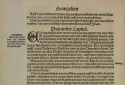 Martin Luther: Das Newe Testament Deutzsch, Wittenberg (Auszug). 1522 UBL: Libri.Sep.A.1503