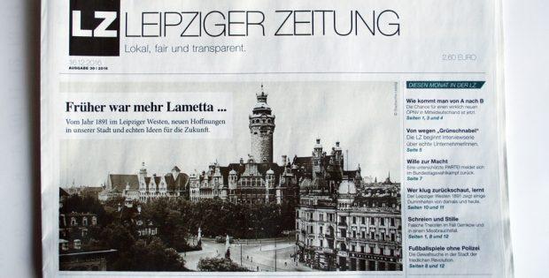 Leipziger Zeitung: Früher war mehr Lametta ... Foto: L-IZ