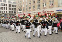 Die erzgebirgische Bergparade. Foto: Stadt Leipzig/Marktamt