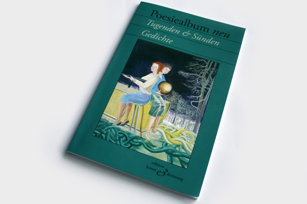 Poesiealbum neu: Tugenden & Sünden. Foto: Ralf Julke