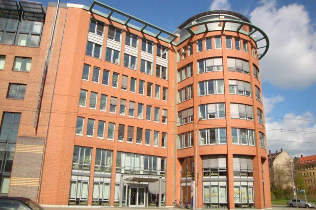 Das Bürogebäude Prager Straße 21. Foto: Gernot Borriss