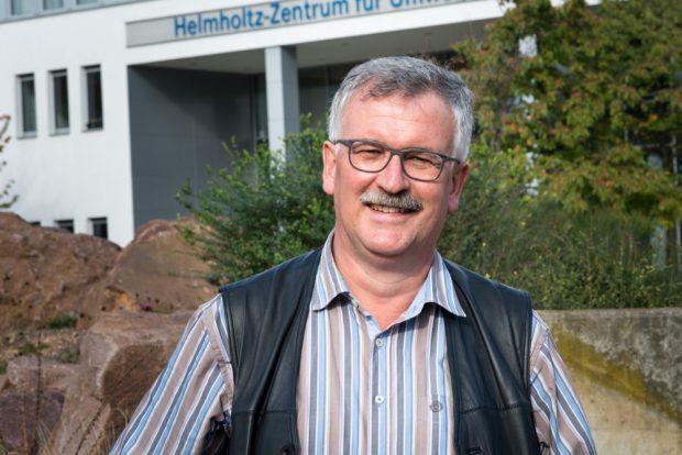UFZ-Biodiversitätsforscher Prof. Dr. Josef Settele. Foto: UFZ / Sebastian Wiedling