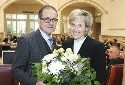 Frau Prof. Karola Wille und Herr Steffen Flath (Rundfunkratsvorsitzender): Foto: obs/MDR Mitteldeutscher Rundfunk