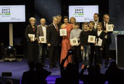 Ehrung der Sportler des Jahres auf der Sportgala des Landessportbundes Sachsen. Foto: Jochen A. Meyer/ LSB
