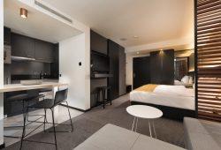 Den künftigen Gast erwarten komfortable Zimmer in edlem Design. Foto: Leipziger Stadtbau AG