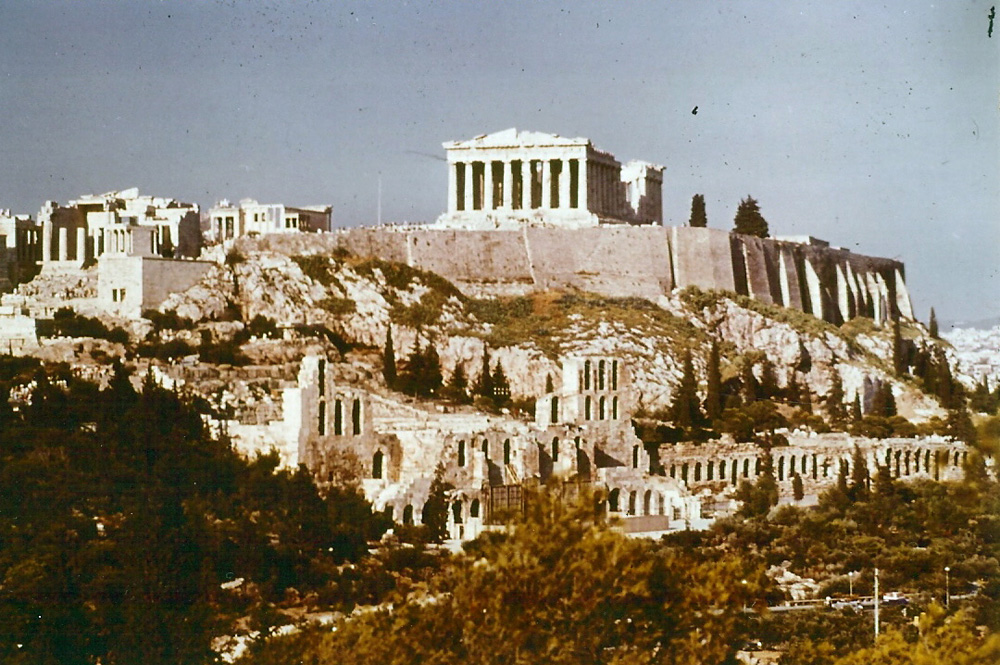 Akropolis in Athen, der Wiege der Demokratie. Foto: Helga, pixelio.de