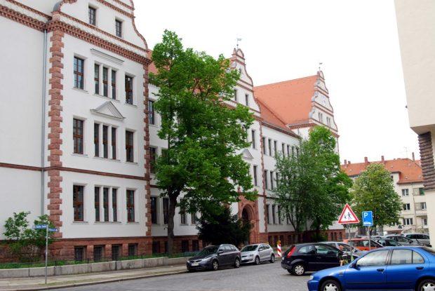 Eine Station im Lehrersein von Jopp in der Anfangszeit - das Humboldt Gymnasium. Foto: L-IZ.de