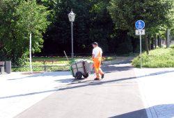 Einer, der einfach nur seinen verdammt einfachen Job macht. Foto: L-IZ.de