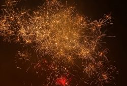 Hohe Luftschadstoffe durch Silvester-Feuerwerk. Foto: Patrick Kulow