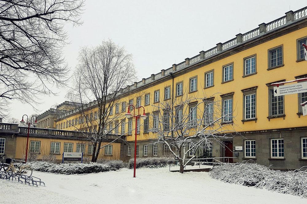 HHL Leipzig Graduate School of Management. Foto: HHL