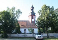 Kirche in Portitz. Foto: Ralf Julke