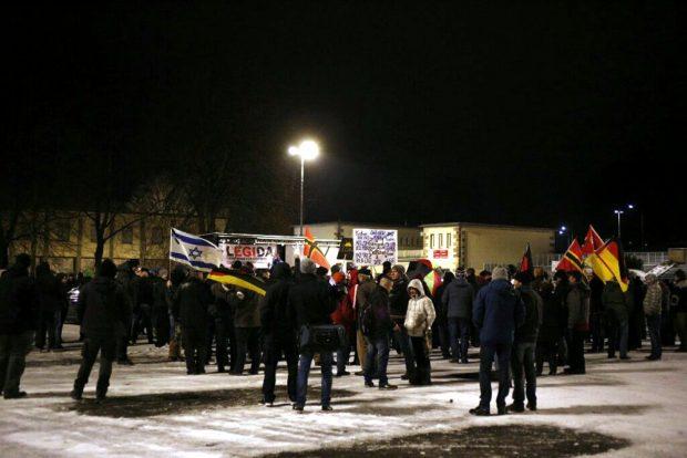 Mehr wurden es auch trotz Mobilisierung im Vorfeld nicht. Foto: L-IZ.de