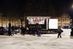 Legida packt am 9. Januar 2017 ein - dieses Mal für längere Zeit. Es soll erst einmal keine weiteren Demonstrationen mehr in Leipzig geben. Foto: L-IZ.de