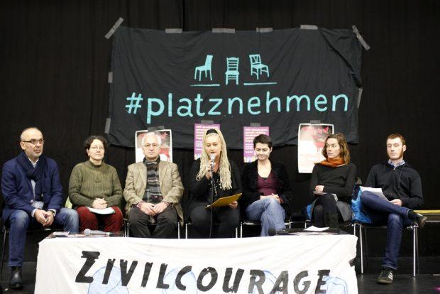 Leipzig nimmt Platz. Foto: Alexander Böhm