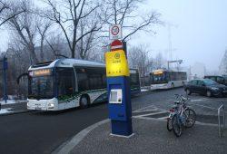 Mobilitätsstation in der Scheffelstraße in Connewitz. Foto: Ralf Julke
