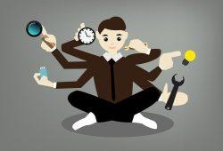 Multitasking - Frauen top, Männer flopp? Bild: Pixabay