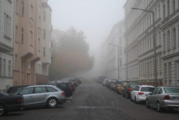 Trübe Stimmung in Gohlis. Foto: Ralf Julke