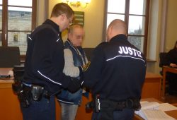 Peter F. sitzt seit Juli 2016 in Untersuchungshaft. Foto: Lucas Böhme