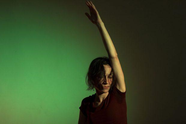 Marina Tenório als Penthesilea. Foto: Westflügel, Thomas Rohrer