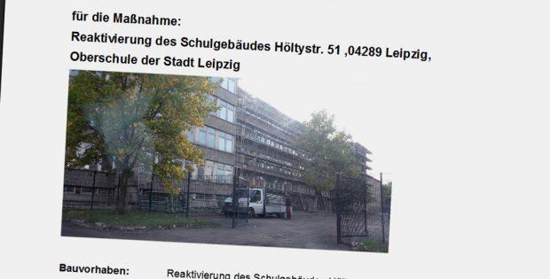 Vorlage für die Reaktivierung der Schule in der Höltystraße. Screenshot: L-IZ