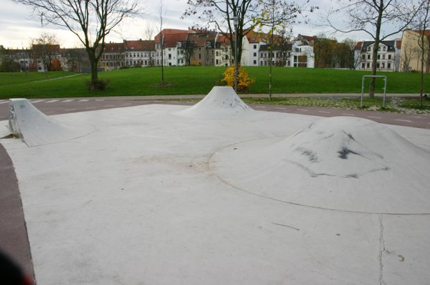 Der Freizeitpark Rabet im Leipziger Osten. Foto: Ralf Julke