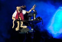 Rattenscharfes Puppenkabarett mit Ursula von Rätin. Quelle: rattenscharf-entertainment.de