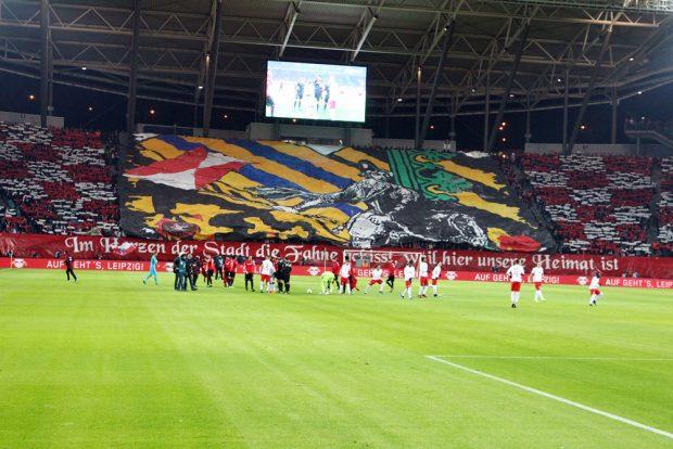Choreographie der Fans. Foto: GEPA Pictures