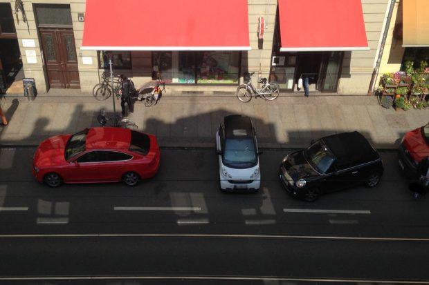 Smartes Übergangsparken. Foto: L-IZ.de