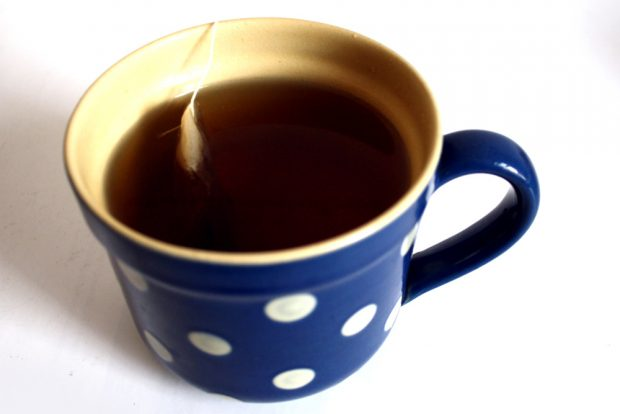 Damit Sie nicht abgelenkt werden: Eine schöne Tasse Tee. Foto: L-IZ
