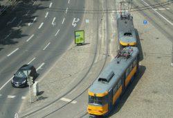 Tatra-Straßenbahn der LVB. Foto: Ralf Julke