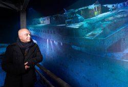 Yadegar Asisi im Panorama Titanic. Foto: Tom Schulze