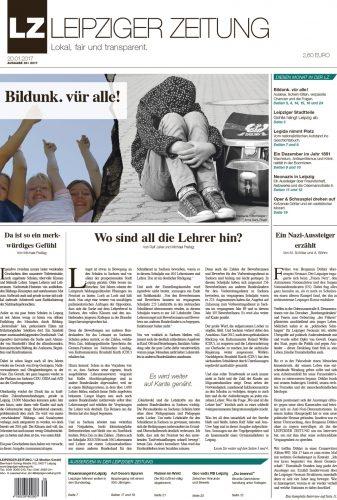 Die neue LZ Ausgabe 39. Bild: Leipziger Zeitung