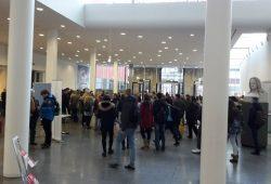 Tag der offenen Tür: großer Andrang im Neuen Augusteum. Foto: Annika Schindelarz/Universität Leipzig