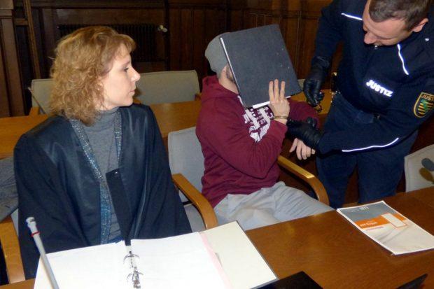 Enrico S. sitzt seit Juli 2016 in Untersuchungshaft. Foto: Lucas Böhme
