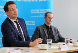 Andreas Eichhorst und Michael Hummel (Referatsleiter Recht der VZS). Foto: VZS