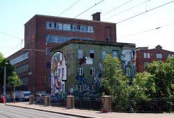 Das Westwerk Leipzig an der Karl-Heine-Straße - derzeit mit ungewisser Zukunft. Foto: L-IZ.de